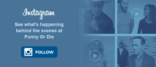 Instagram - See what's happening behind the scenes at Funny Or Die